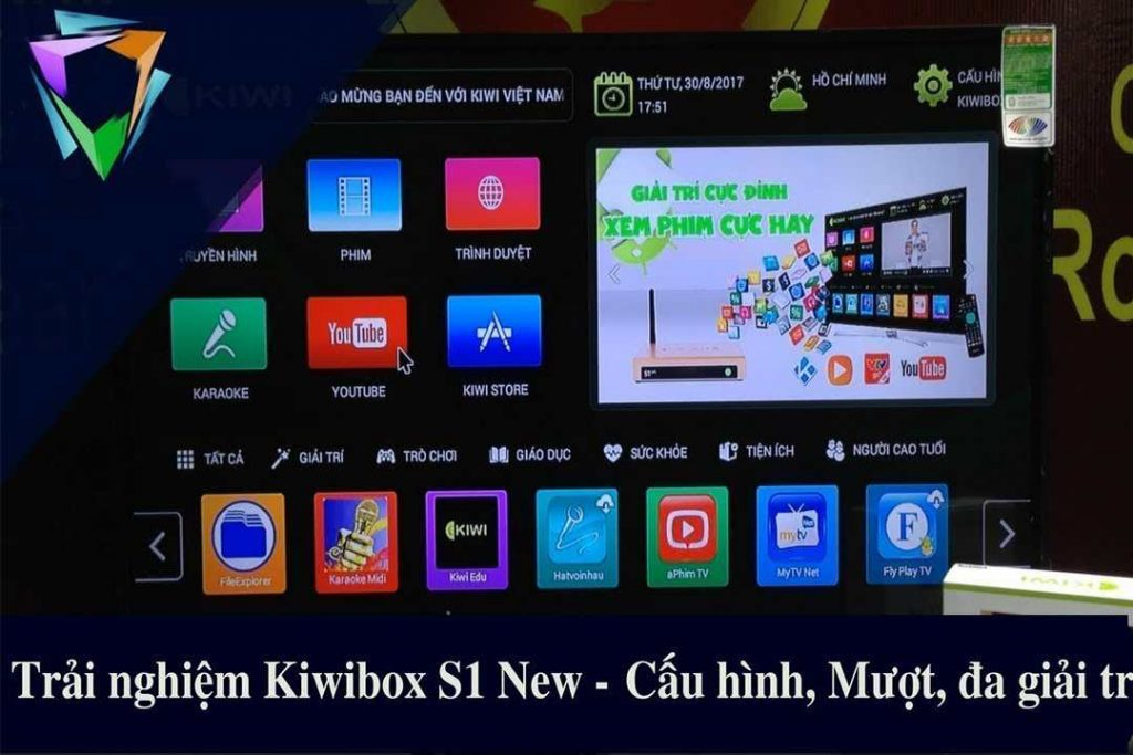 giao diện tv box s1 new