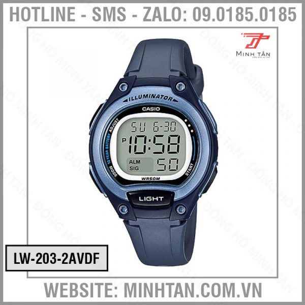 DONG-HO-CASIO-LW-203-2AVDF-2019