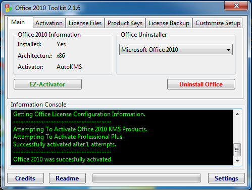 microsoft office 2010 professional with crack