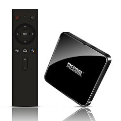 MECOOL KM3 Android TV 9.0, Amlogic S905X2 4GB64GB, Voice Remote