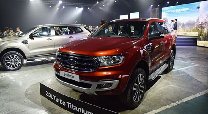 Dòng xe Ford Everest